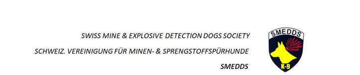 SWISS MINE & EXPLOSIVE DETECTION DOGS SOCIETY